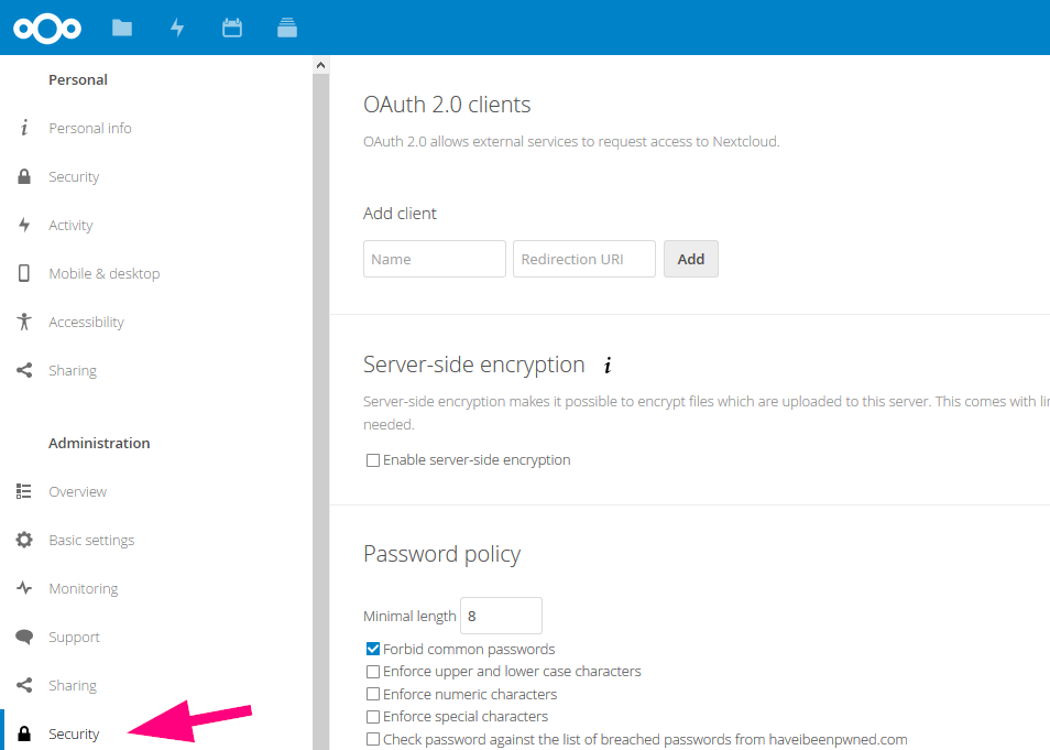 How to use Nextcloud as OAuth2 Provider for CodiMD